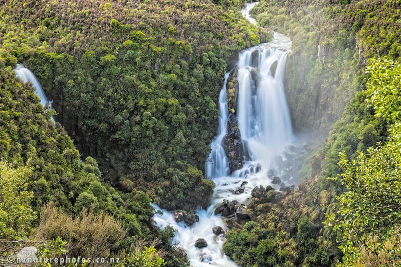 Waiarua and Waipunga Falls
